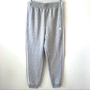 ADIDAS Fleece Jogger Pants Boy's XL Grey